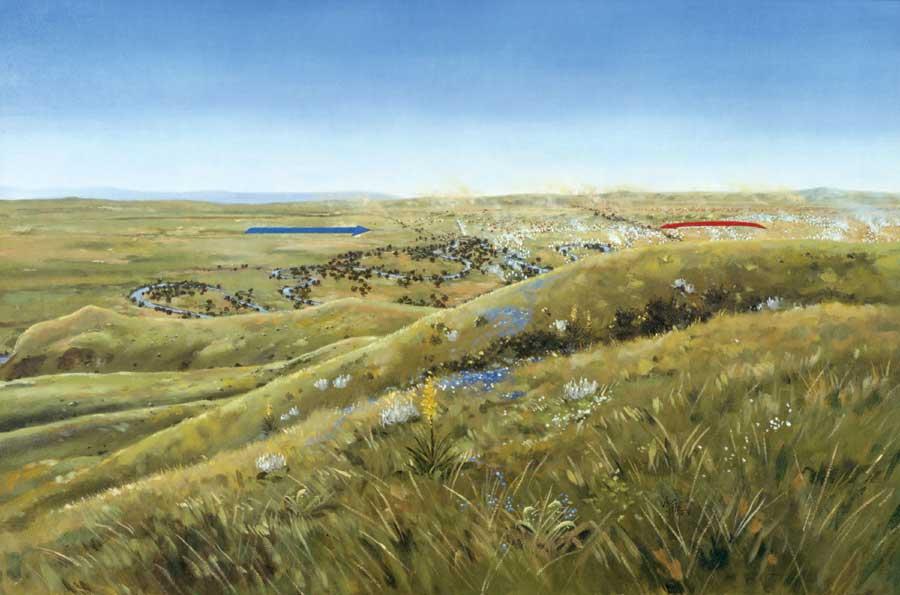 Image Result For Battle Of Little Bighorn Map